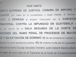 CSJ señala que Vielmann no puede ser procesado por un delito ya juzgado en España