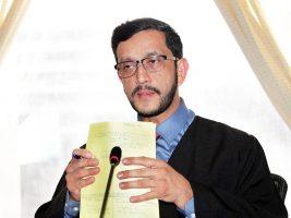 Recusan a juez Víctor Cruz por la posibilidad de tener comprometidos sus intereses