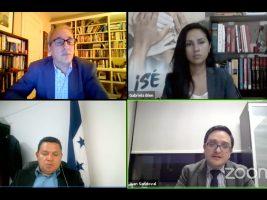 Fiscal Sandoval participa en el foro: Factores en el combate a la corrupción en Guatemala y Honduras