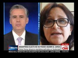 Gloria Porras afirma que regresará a Guatemala para ejercer su cargo como Magistrada de la CC