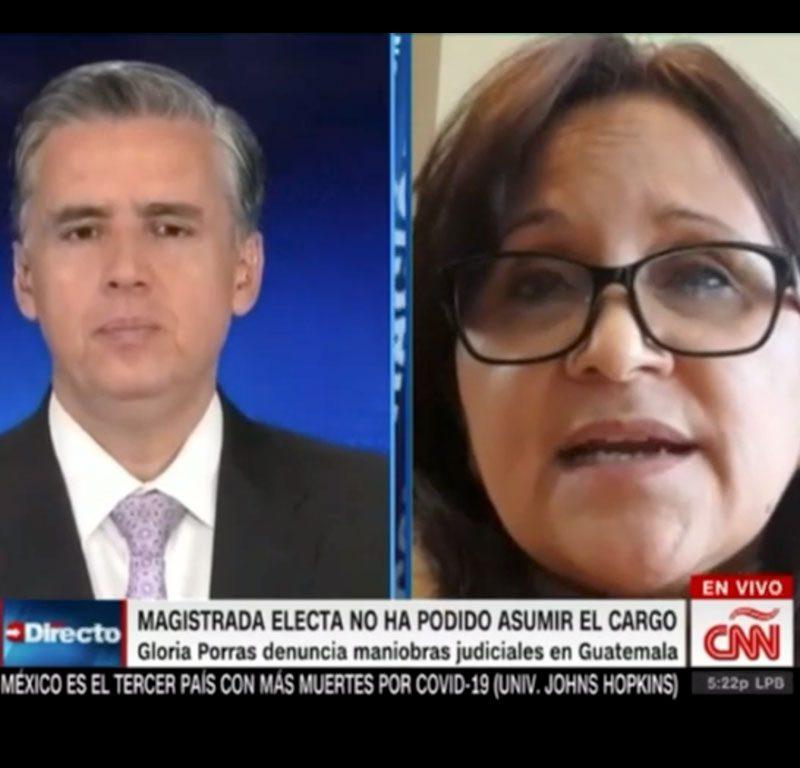 Entrevista Gloria Porras