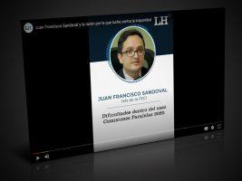 Fiscal Juan Francisco Sandoval reconoce no estar solo a pesar de las adversidades