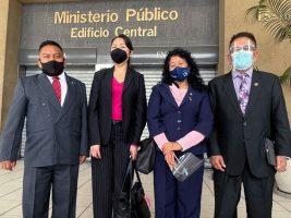 Jueces de Mayor Riesgo denuncian vigilancia y piden apoyo al MP