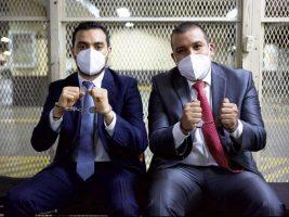 Solorzano Foppa y Anibal Argüello dejan la prisión