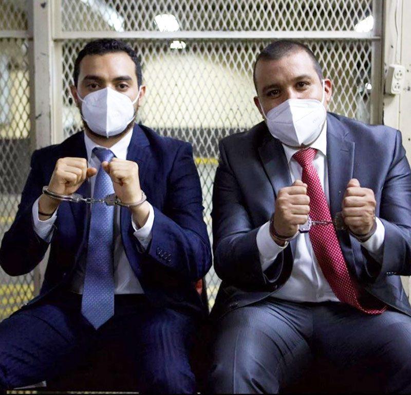 Solorzano Foppa y Anibal Argüello dejaron la prisión